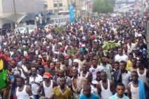 Biafrans Protest