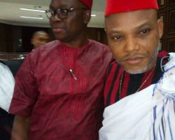 Nnamdi Kanu has once again been granted bail at Federal High Court Abuja.