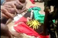 "Biafrans killed by Nigerian Army ""Python Dance II"""